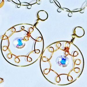 Coronavirus Inspired Earrings